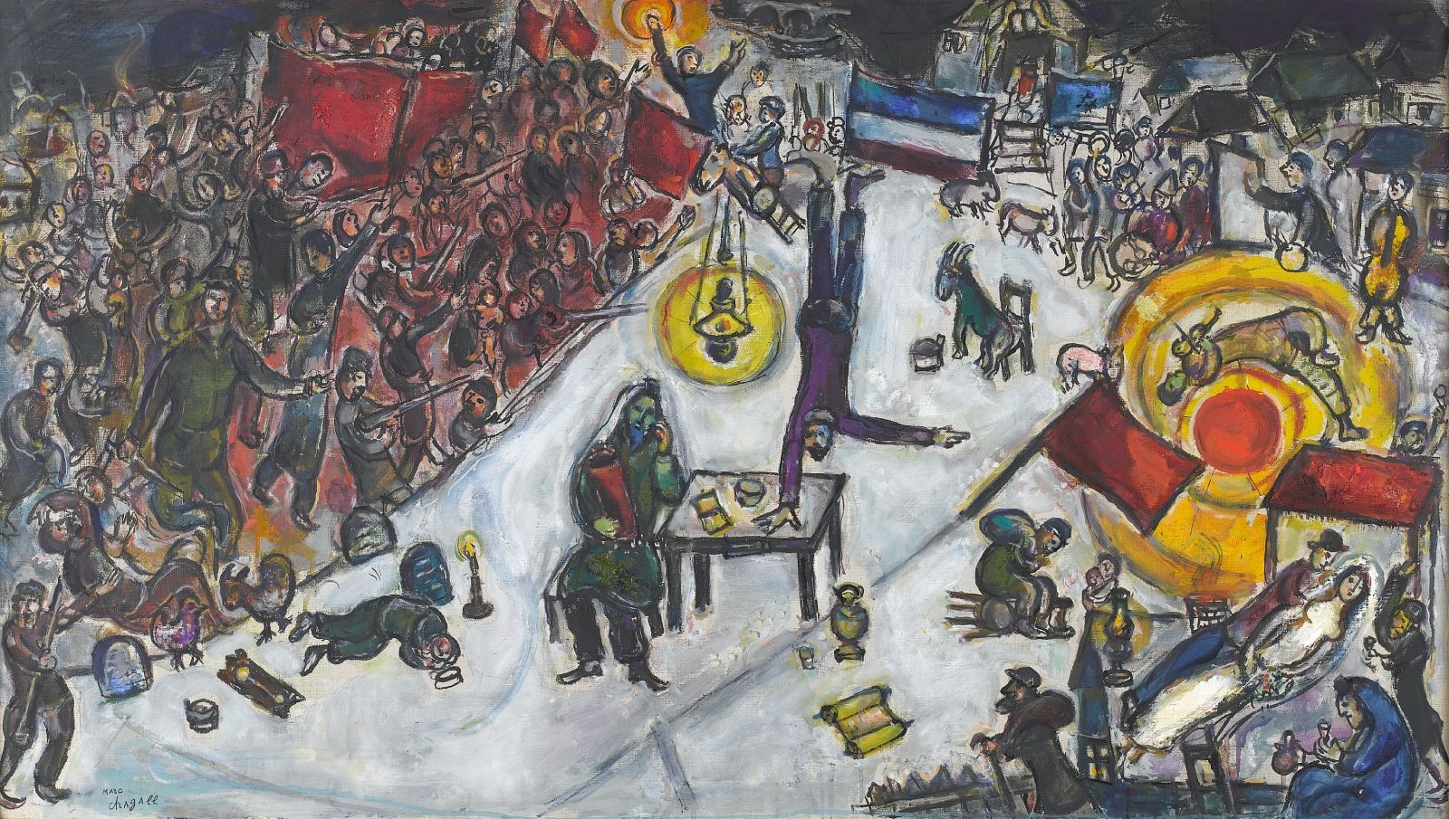 Marc Chagall, The Revolution 1968