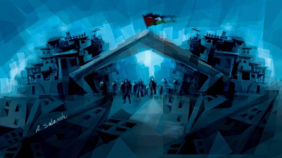 مخيم اليرموك، الاستضافة