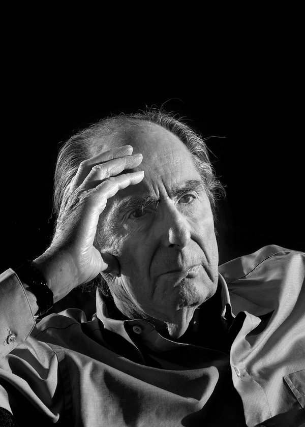 Philip Roth, photographed at his home on the Upper West Side of Manhattan in January 2018.CreditPhilip Montgomery for The New York Times