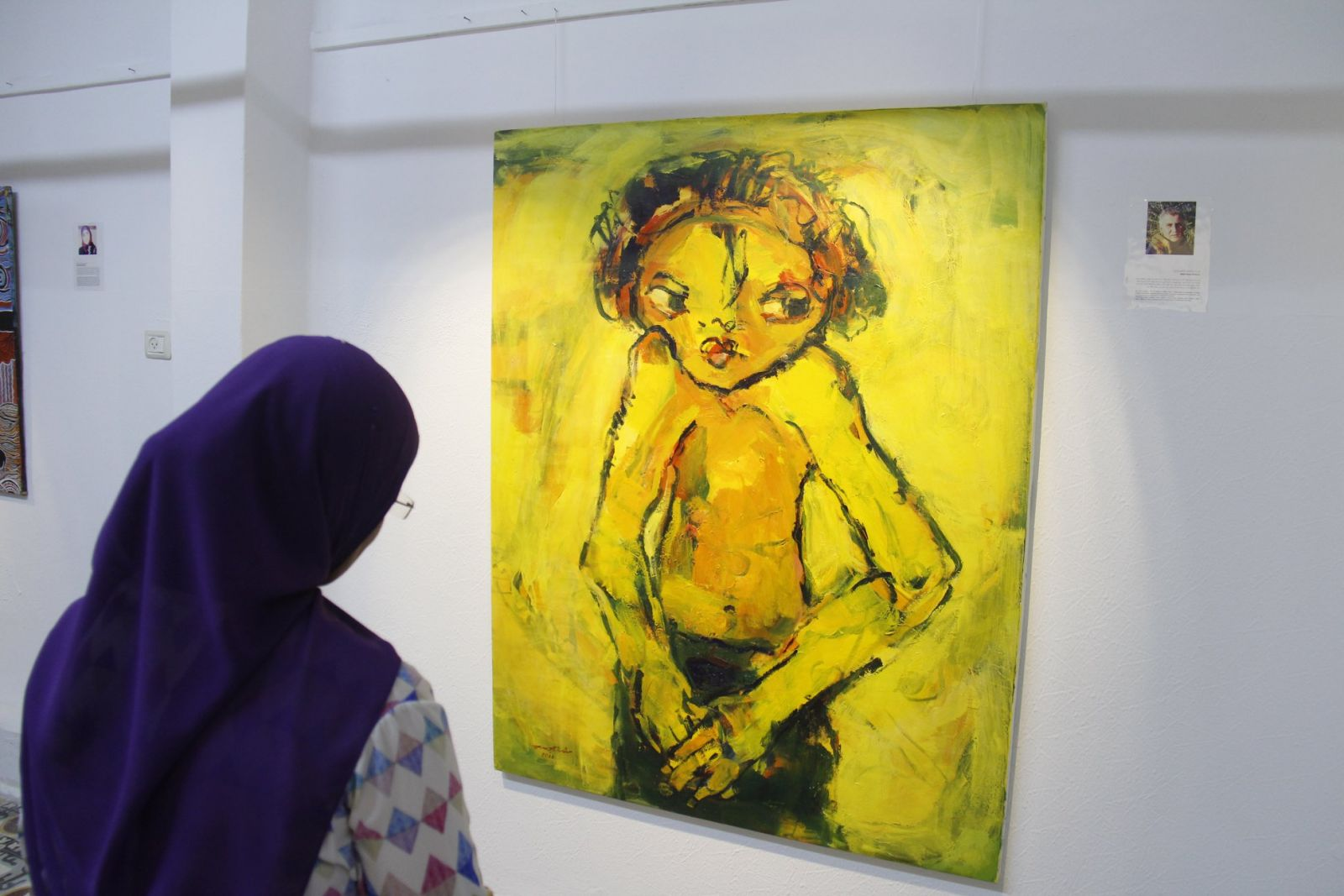 Copy of Opening of Toward Hope exhibition, Eltiqa&Shababelk from Gaza 3