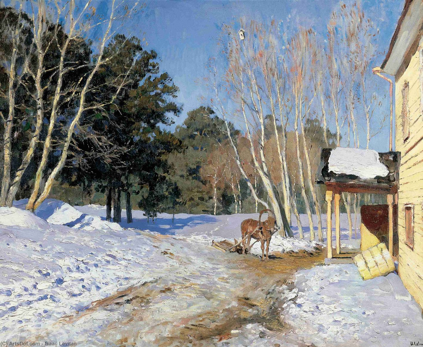 March, Isaac Levitan