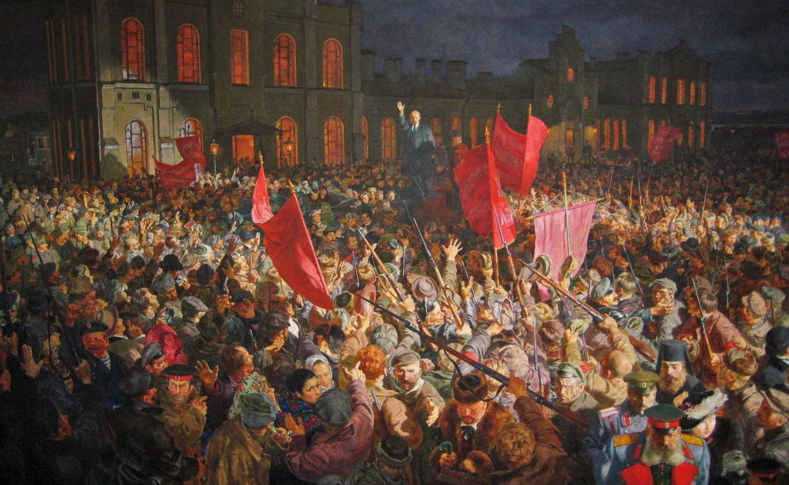 1905/1917 تكتيك الثورة المنتصرة