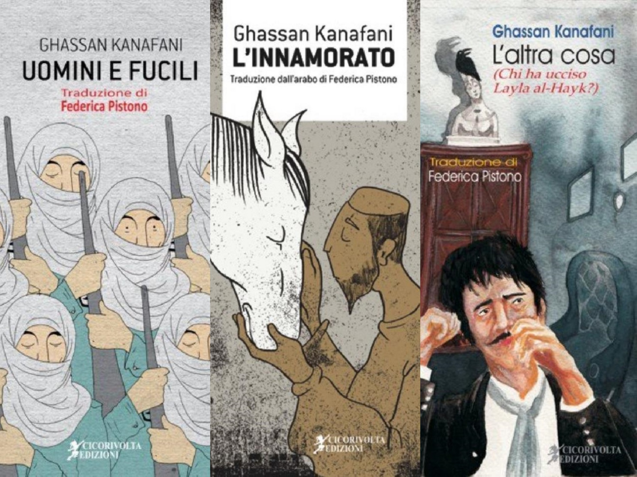 الإيطالية فيدريكا بيستونو: ترجمت ثلاثة أعمال لكنفاني لأني أحببت كتاباته