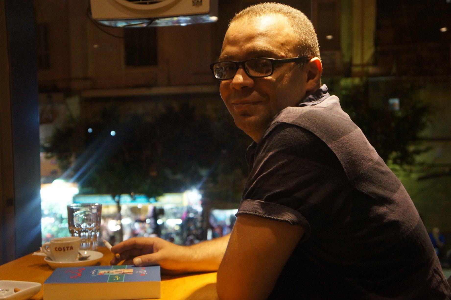 أحمد الفخراني: إن فرحي الوحيد والأصيل يأتي بالكتابة