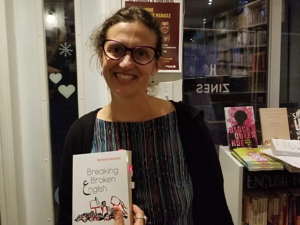 ميشيل هارتمان: أشعر بارتباط عميق بكتابات النساء