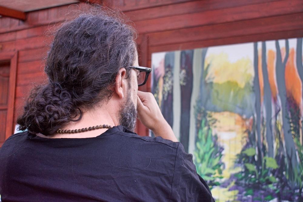 إقامة وأعمال جديدة لفنانين فلسطينيين... من الريف الهنغاري