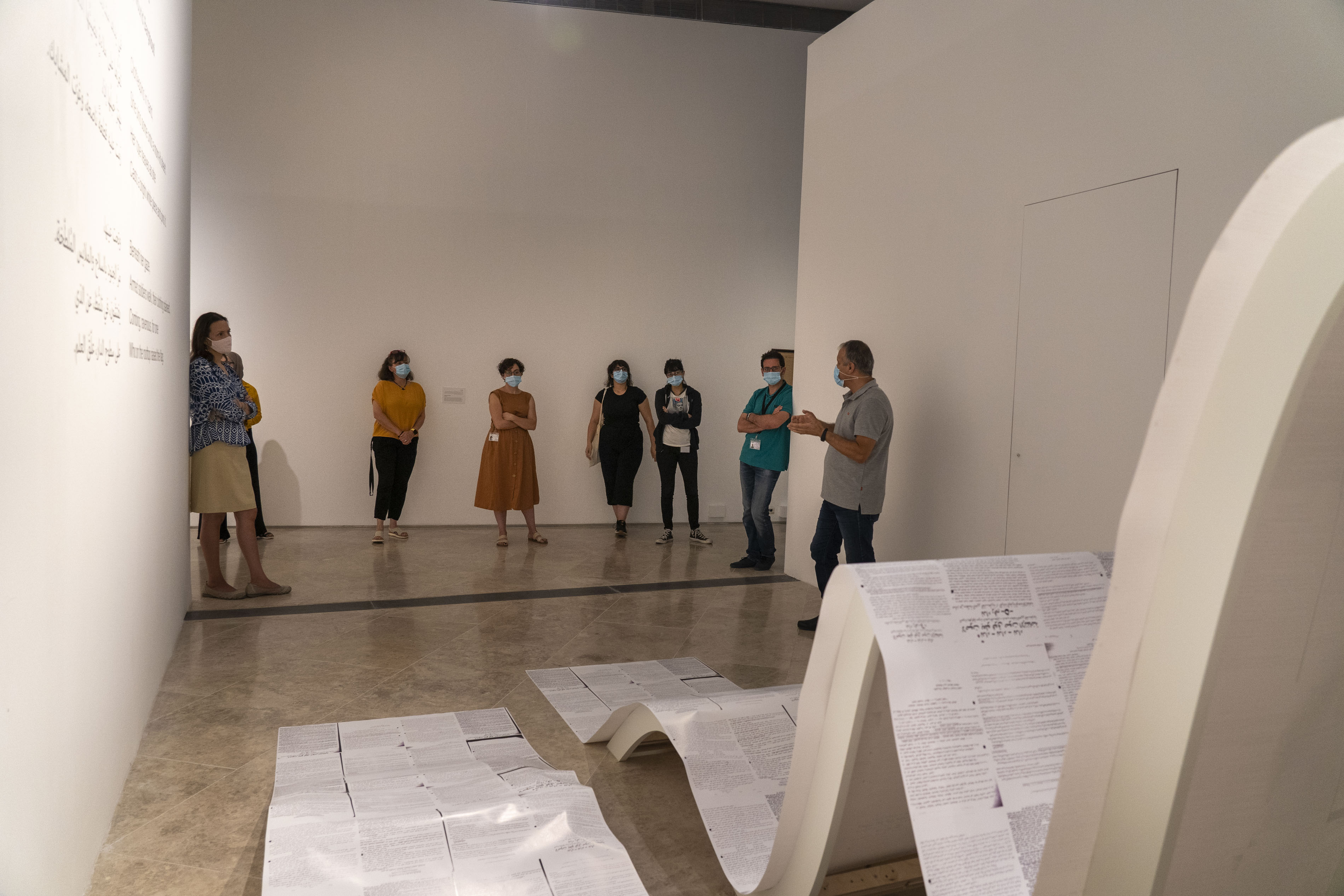 المتحف الفلسطيني يفتح أبوابه من جديد أمام الجمهور