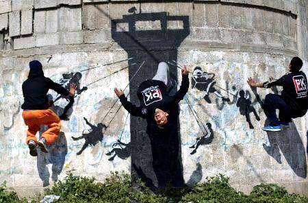 غزة السوبرمان!