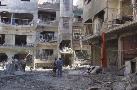 اليرموك وكراتين جبهة النصرة!