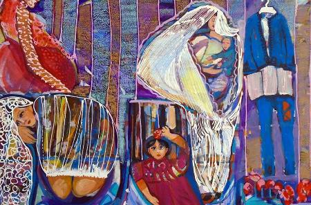 نجلاء الفيتوري: أجسد المرأة المحكومة بالتقاليد والعادات