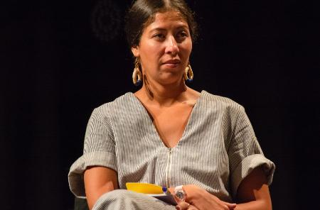 يوميات المهرجان... المخرجة آسيا بنداوي: فيلمي نضال ضد كل تمييز عرقي